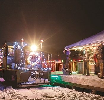 A Portage Flyer Christmas is a magical way to visit Santa (Muskoka Heritage Place)