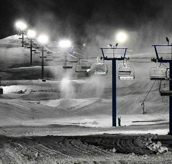 Hidden Valley Highlands Ski Area installed new LED lights this year (HVHSA)