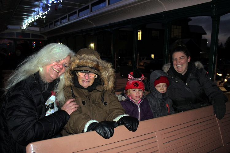 A Portage Flyer Christmas is an event for all ages.
