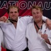 Judo Jeff Allen (left) won silver at the Elite 8 Judo Nationals on Jan. 12 (supplied)