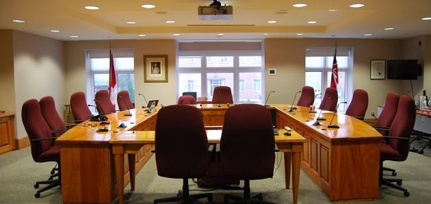 Huntsville Council Chambers (Town of Huntsville)