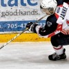 Brandon Janke with the North Bay Trappers Jr A (Denis Dubois)