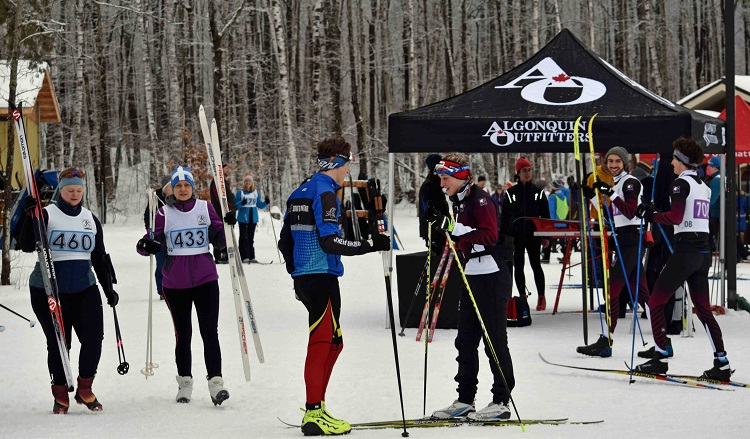 Participants were all smiles as they awaited the start of their races (Cheyenne Wood)