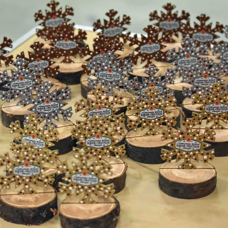 These snowflakes were befitting awards for a winter event (Cheyenne Wood)