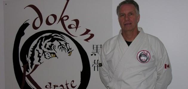 Sensei Lucien 's Jongers, new owner of Dokan Karate (supplied)