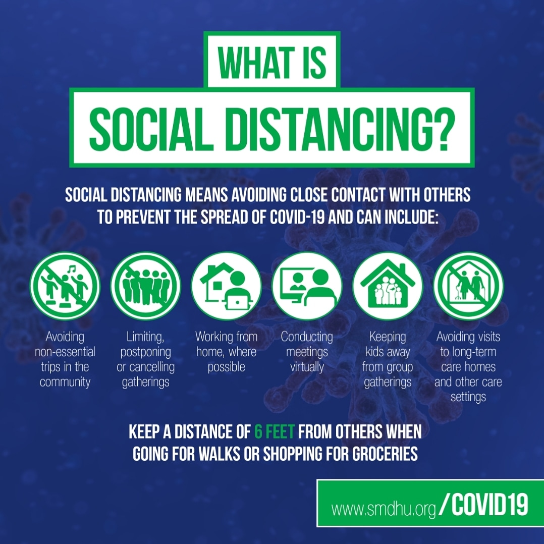 Coping With COVID-19: What Is Social Distancing