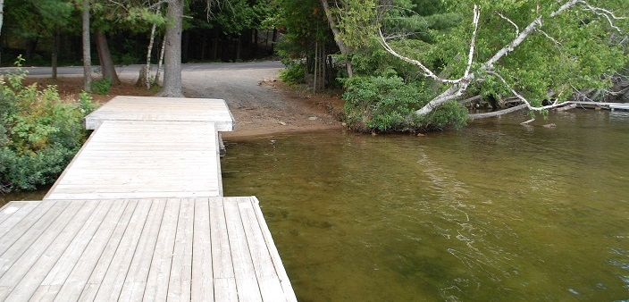 A view of the public boat launch at 4066 South Portage Rd. (Doppler file photo)