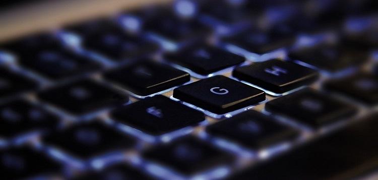 Backlit keyboard (Photo by Daniel Agrelo on Pixabay)