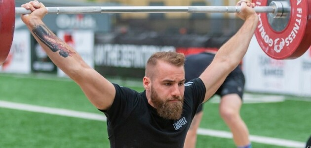 Mitch Friend competing at the 2019 CanEast Games (supplied)