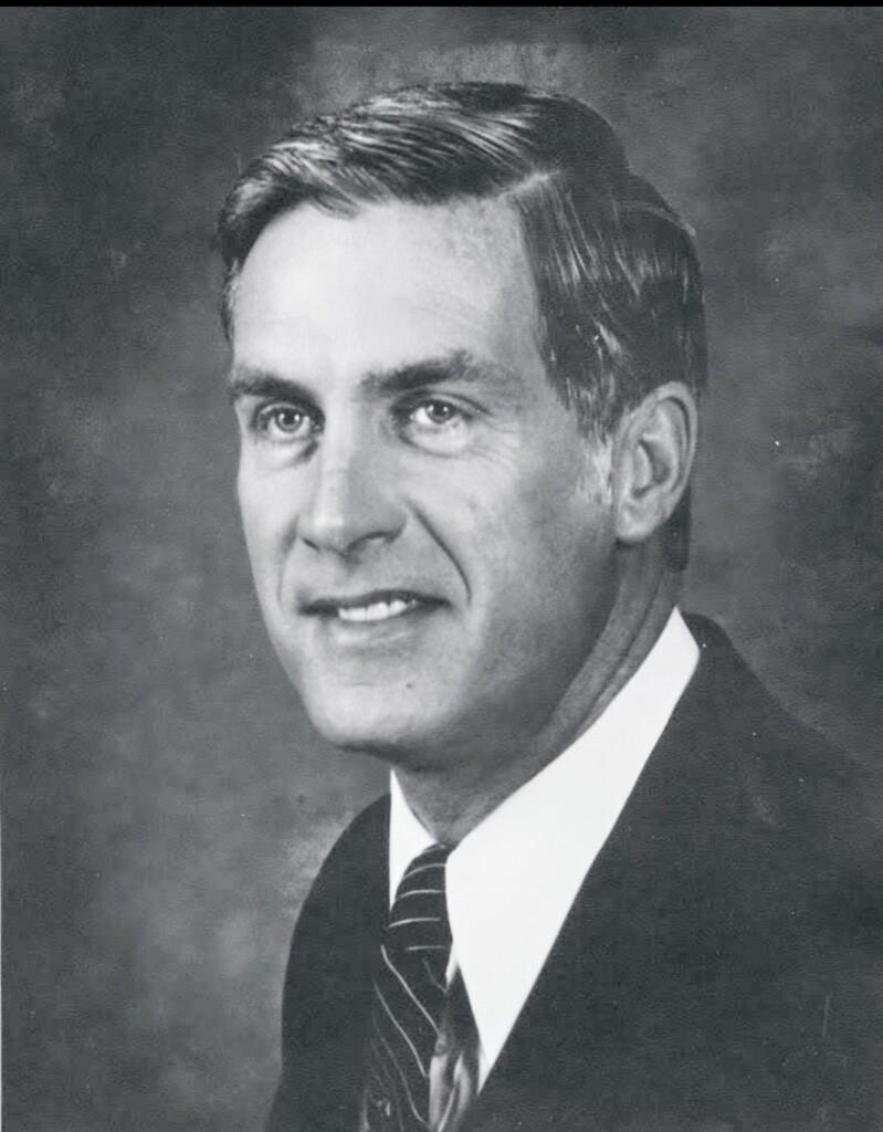 Bob Addison was Huntsville's mayor in 1970 (huntsville.ca)