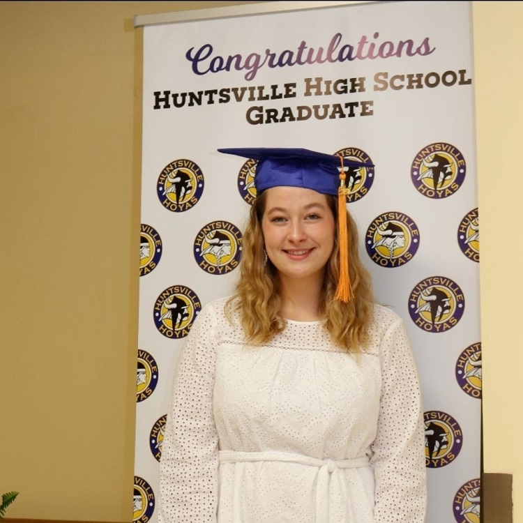 HHS 2019-2020 valedictorian Aria Platts-Boyle (supplied)