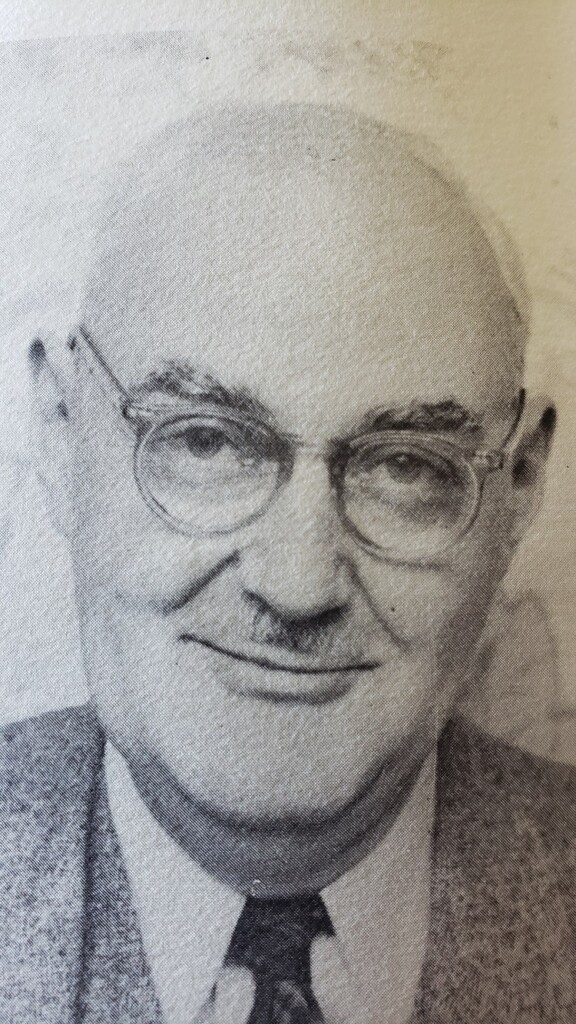 HHS principal J.E. Harry Thornton (Courtesy of Martha Briggs Watson)