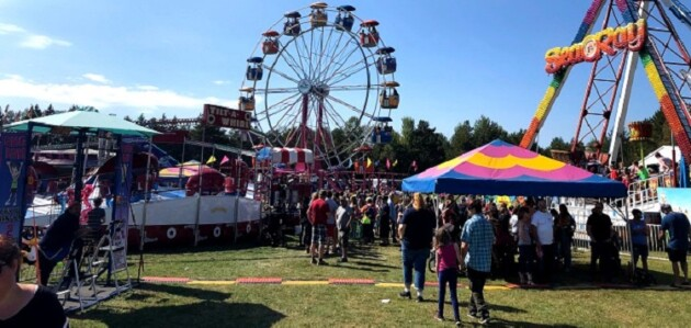 The midway at the Huntsville Fall Fair in 2019 (Doppler file photo)