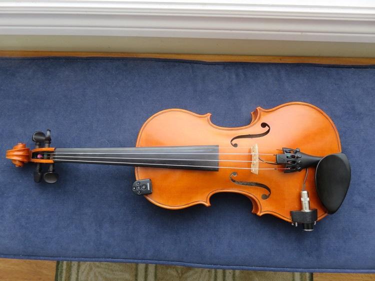 Tom Hutchinson's violin.