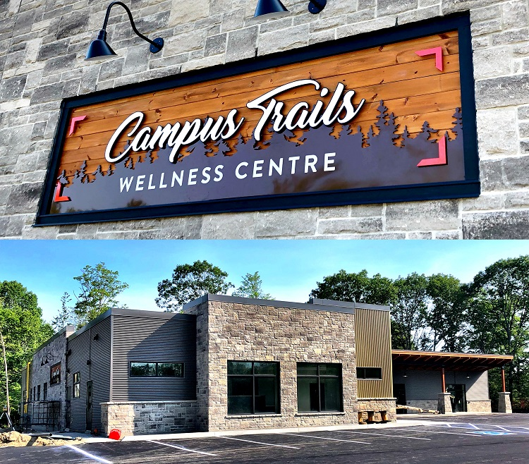 The Campus Trails Wellness Centre will house a variety of medical professional services.