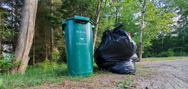 Garbage and green bin (Doppler file photo)