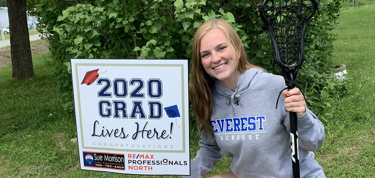 Kaiya Roberson graduated from HHS this year. Next she's headed to UCWV on a field lacrosse scholarship. (supplied)